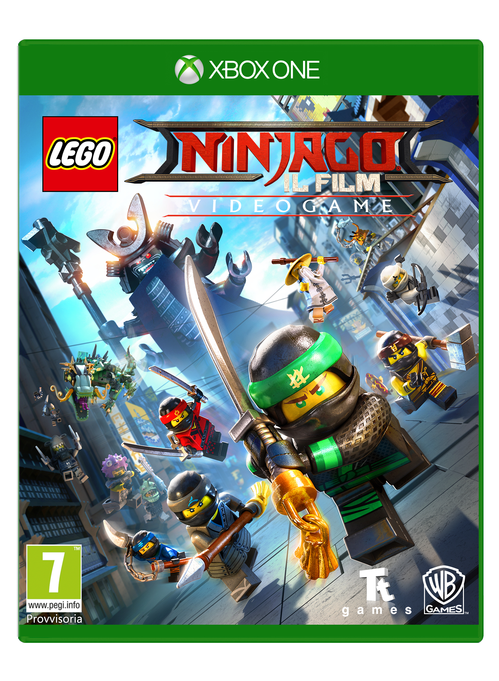 Warner Bros Game Lego Ninjago The Movie LEGO Ninjago Il Film Video Game - 1000691202