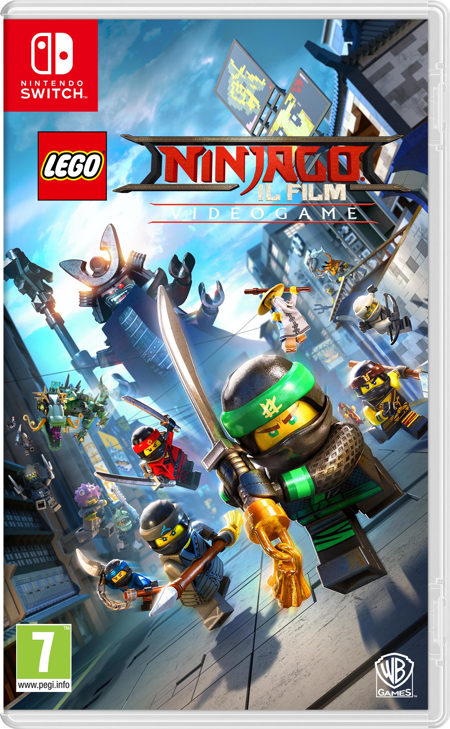Warner Bros Game Legi Ninjago The Movie The LEGO Ninjago Il Film - 1000691203