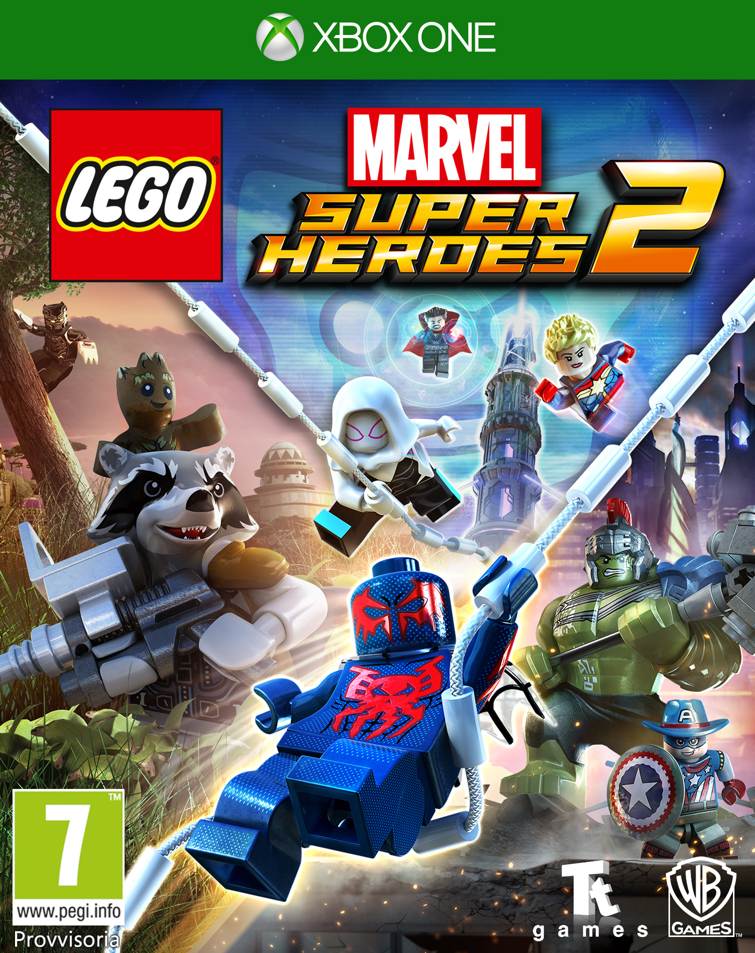 Warner Bros Game Lego Marvel Super Heroes LEGO Marvel Superheroes 2 - 1000653348