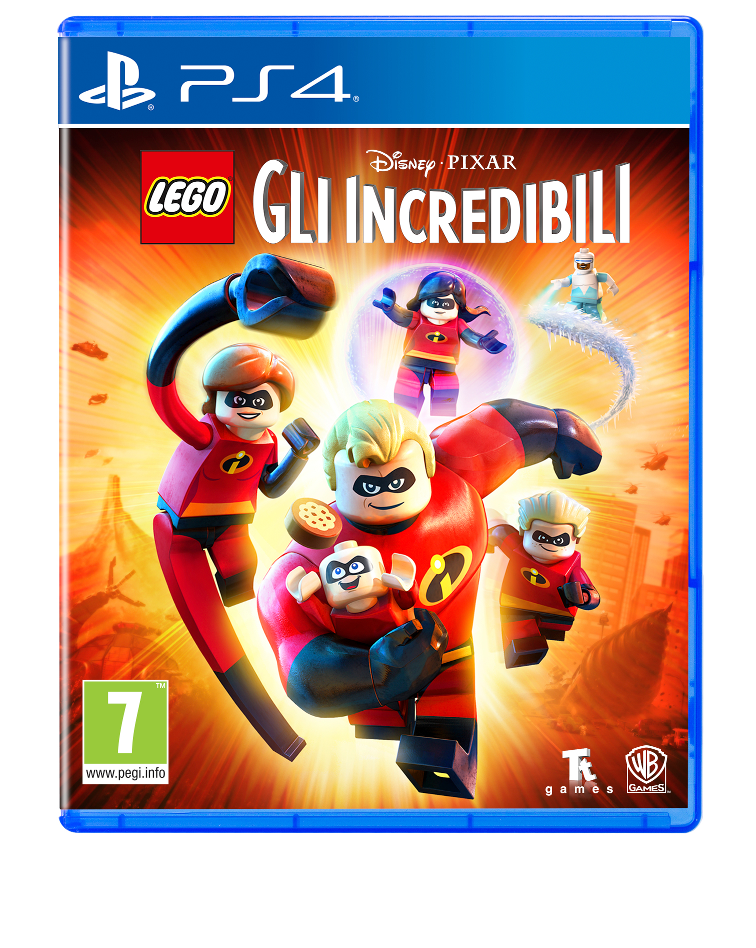 Warner Bros Game Lego The Incredibles Warner Bros LEGO Gli Incredibili - 1000704834