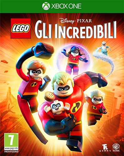 Warner Bros Game Lego The Incredibles Warner Bros LEGO Gli Incredibili - 1000704836