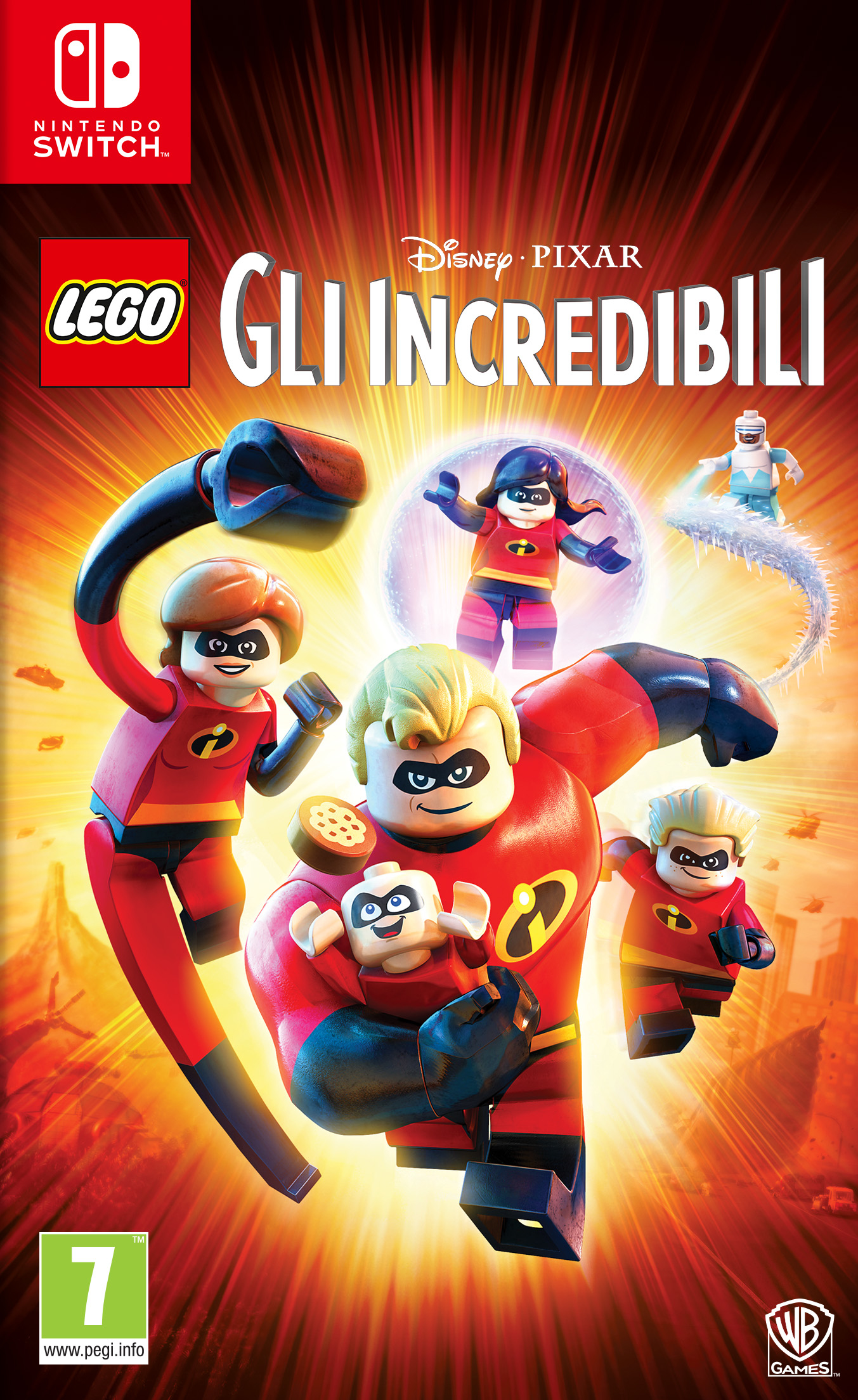Warner Bros Game Lego The Incredibles Nintendo LEGO Gli Incredibili - 1000704838