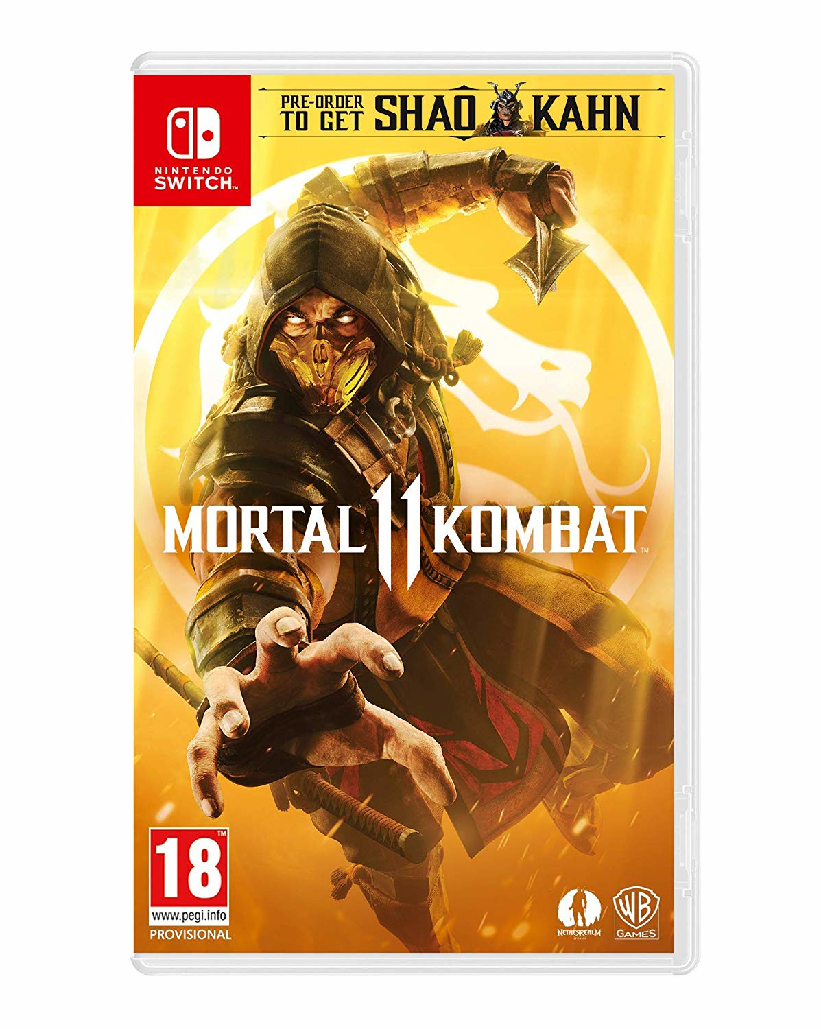 Warner Bros Game Mortal Kombat 11 Mortal Kombat 11 - 1000744910