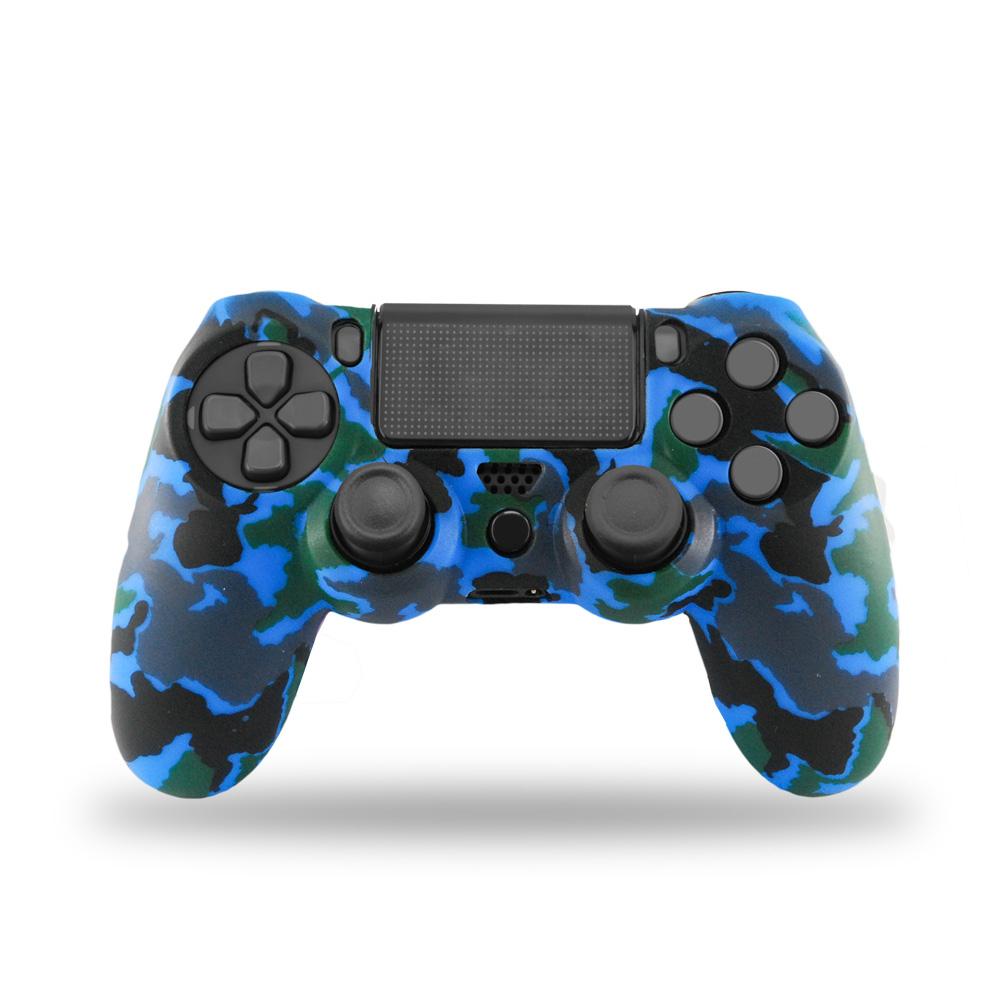 Xtreme 90407a Custodia per controller PlayStation 4 Nero e Blu