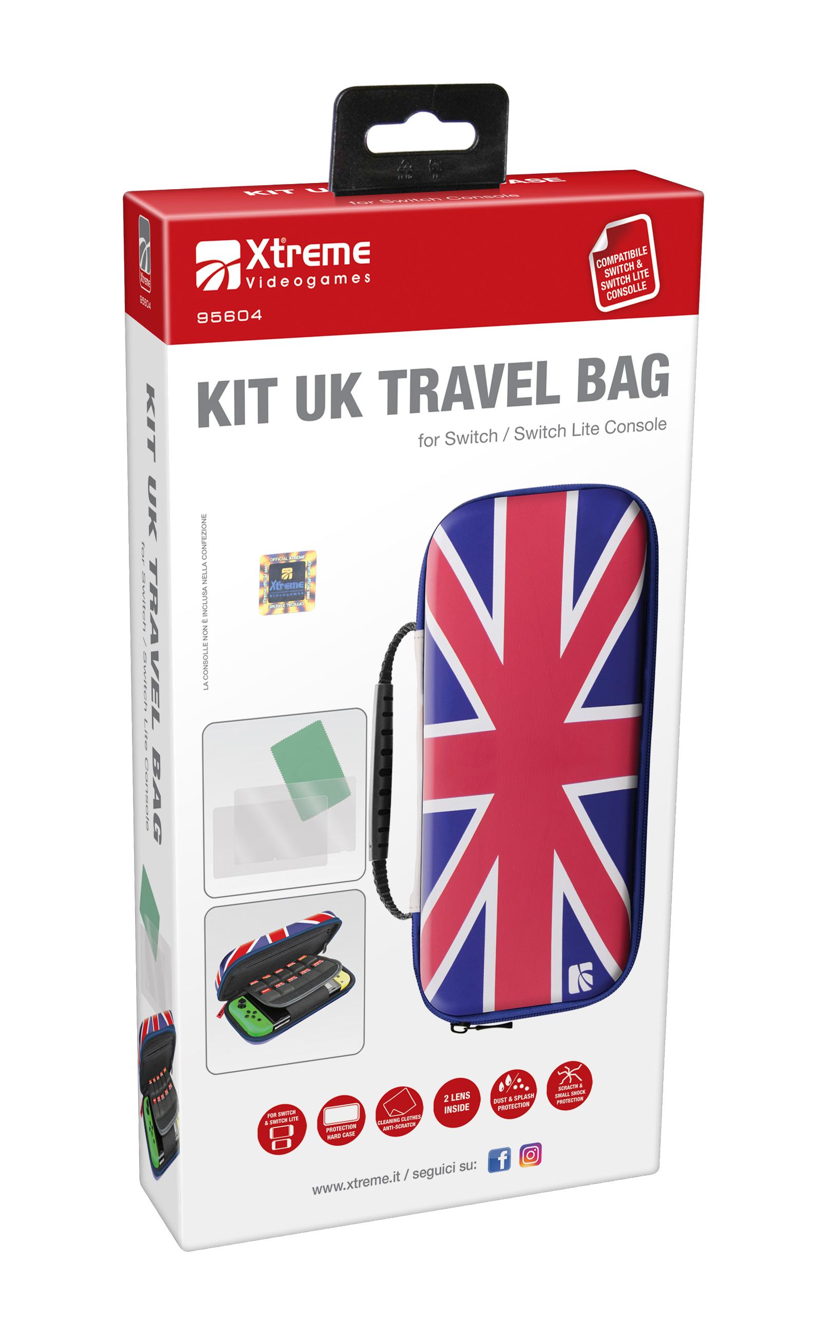 Xtreme 95604 Travel kit UK Compatibile Nintendo Switch