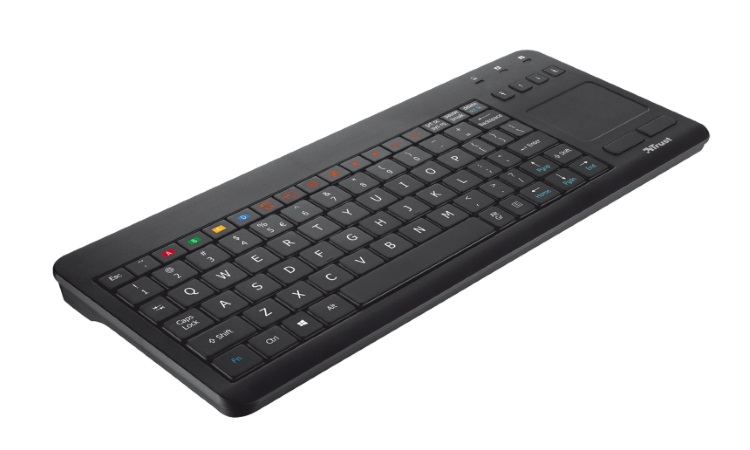 TRUST Tastiera multimediale RF wireless, ideale per TV Samsung - KEYBOARD SMART TV SAMSUNG 20064
