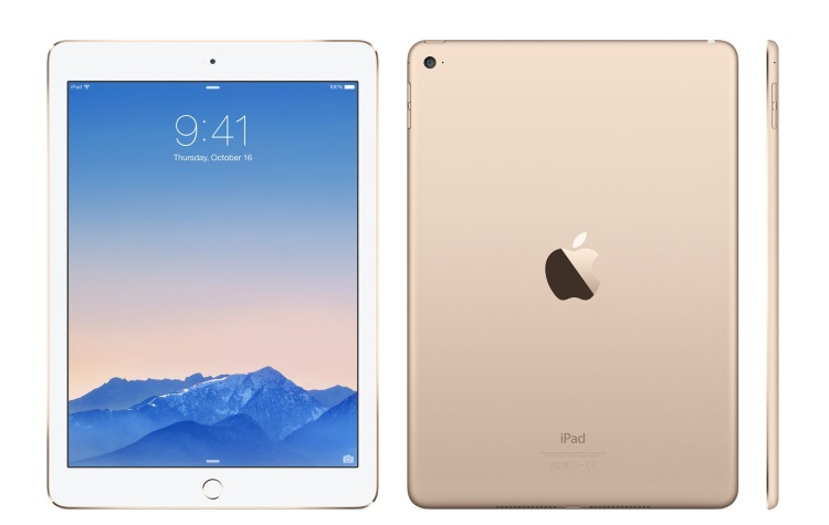"APPLE Display Retina a LED Multi-Touch da 9.7"" - IPAD AIR 2 WI-FI +CELL. 32GB GOLD"