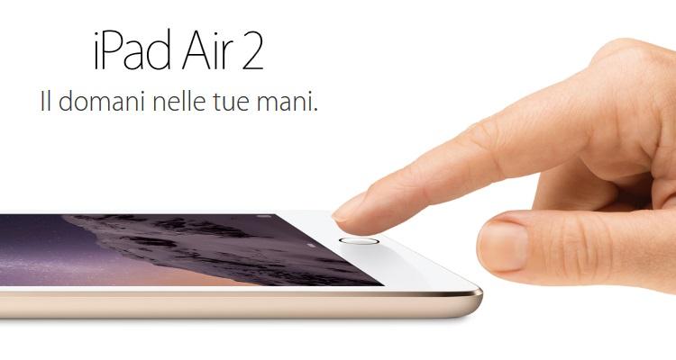 "APPLE Display Retina a LED Multi-Touch da 9.7"" - IPAD AIR 2 +CELL. 128GB GOLD"
