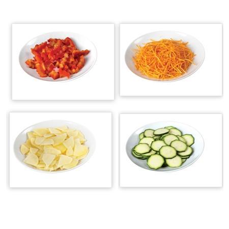 ARIETE Affetta verdure elettrico ricaricabile - SALADINO CORDLESS ARANCIO