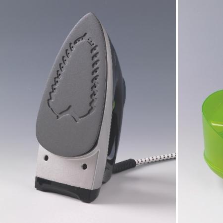 ARIETE Ferro a caldaia con innovativa piastra Non-Stick in ceramica - ECOPOWER 6422