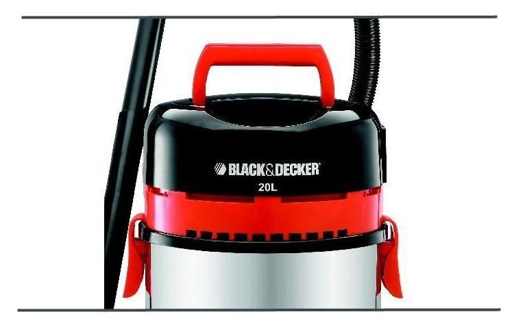 BLACK & DECKER Bidone Aspiratutto: Aspirazione di solidi e liquidi - WBV 1450