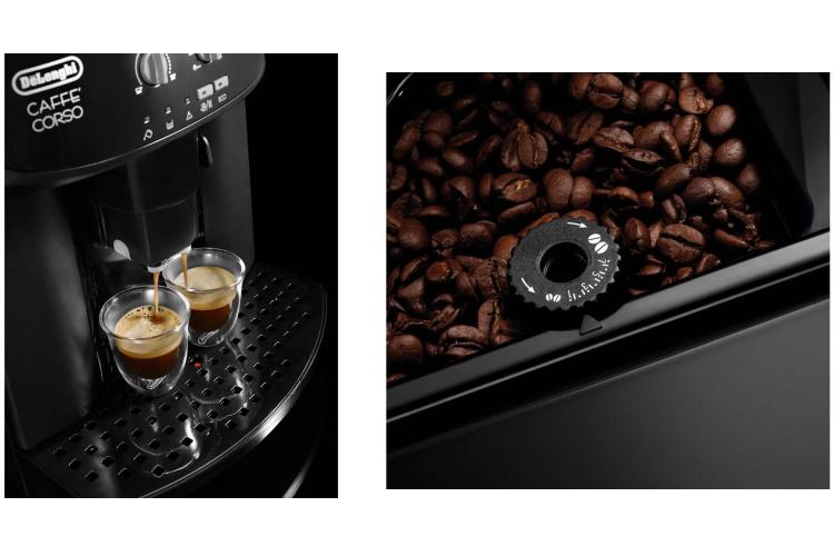 DE LONGHI Macchina da caffè automatica - CAFFE' CORSO ESAM 2600 BLACK