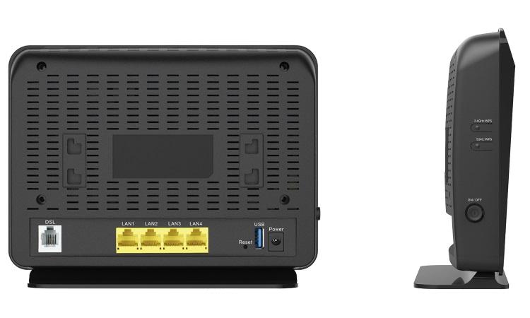 D Router ASDL2+ - LINK - GO-DSL-AC750