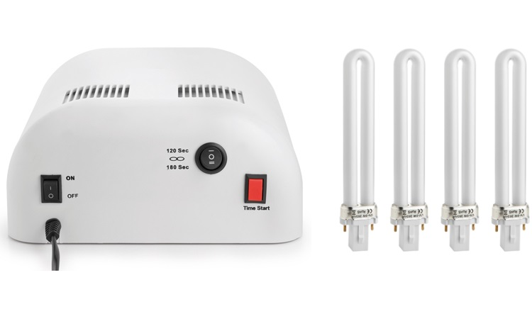 MACOM Innovativa lampada per unghie sempre curate e resistenti - LAMPADA UV PER UNGHIE 209