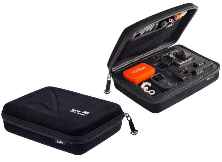 GOPRO Pratica custodia per videocamera GoPro Hero3+ - CUSTODIA POV CASE BLACK SMALL GOPRO 3