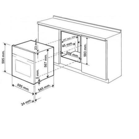HOTPOINT Forno elettrico multifunzione da incasso - FT 850 1 AN S