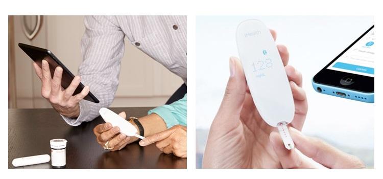 IHEALTH Sistema di controllo della glicemia wireless - ZIHEALTH23510 GLUCOMETRO BG5