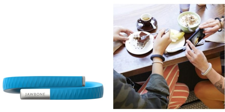 JAWBONE Braccialetto con Sistema UP - UP BY JAWBONE SMALL BLUE