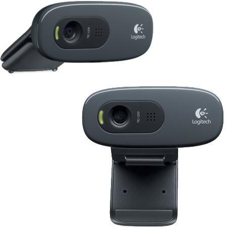 LOGITECH Webcam ad Alta Risoluzione HD, Risoluzione 720p - HD WEBCAM C270