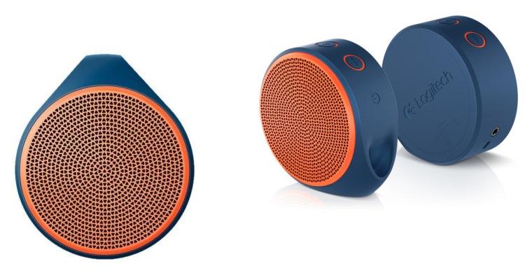 LOGITECH Speaker portatile Bluetooth - X100 MOBILE SPEAKER ORANGE