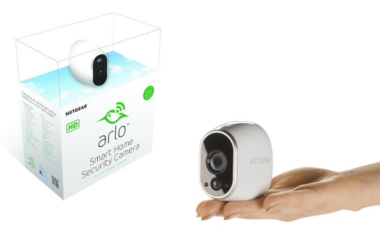 NETGEAR Videocamera Wireless +Stazione di controllo - 1 ARLO SMART HOME +STATION VMS3130