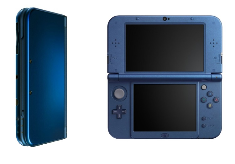 NINTENDO - NEW 3DS XL BLU METALLICO