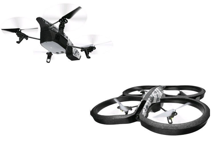 PARROT Drone quadricottero - AR.DRONE 2.0 ELITE EDITION SNOW