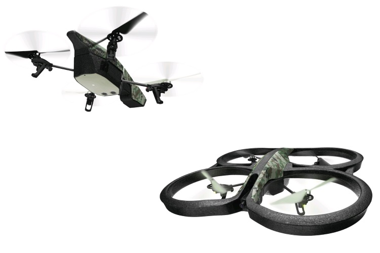 PARROT Drone quadricottero - AR.DRONE 2.0 ELITE EDITION JUNGLE