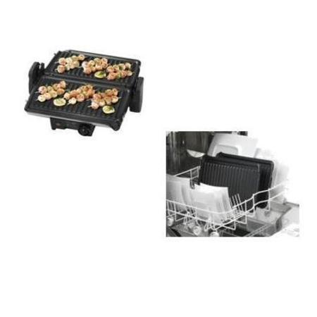 ROWENTA 2 posizioni di cottura: barbecue e tostiera - GC 2060