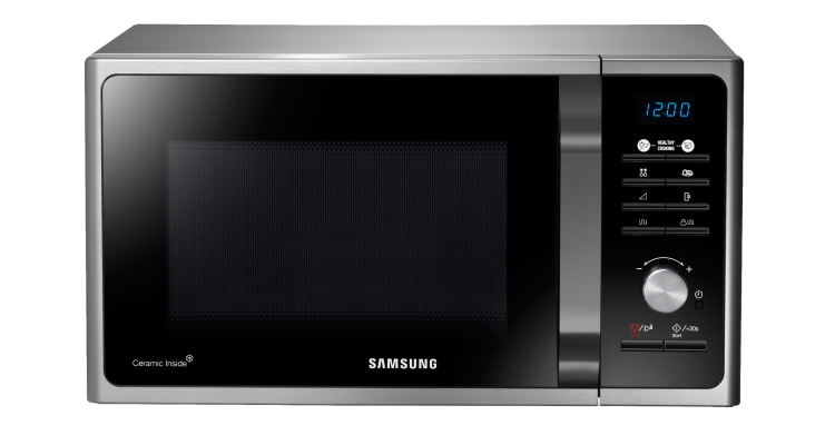 SAMSUNG Forno a microonde con speciale cottura Crusty - MG23F301TCS