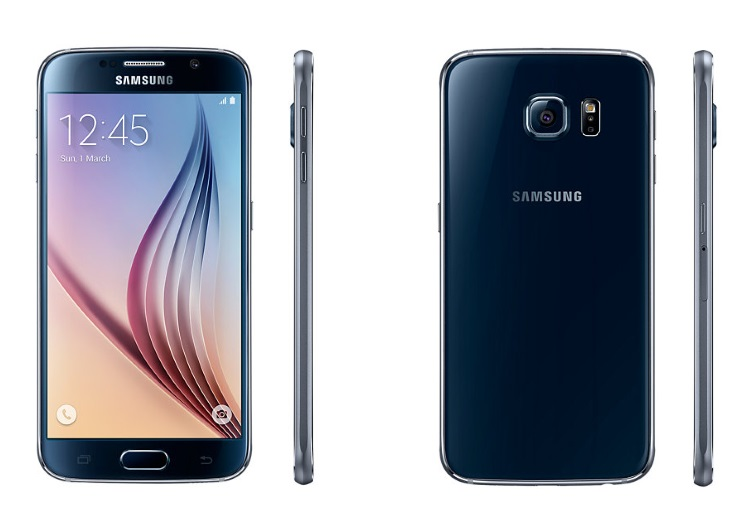 SAMSUNG 4G LTE - GALAXY S6 64GB SM-G920 BLACK
