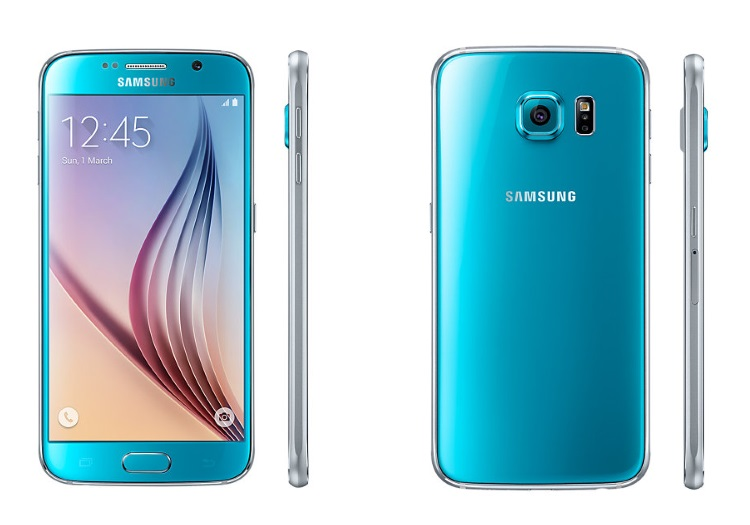 SAMSUNG 4G LTE - GALAXY S6 64GB SM-G920 BLUE