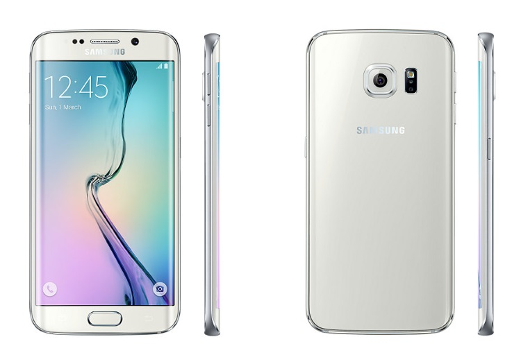 SAMSUNG - GALAXY S6 EDGE 64GB SM-G925 WHITE