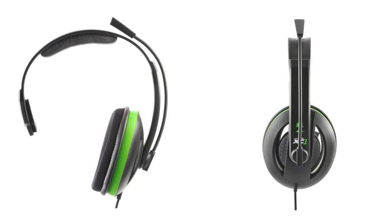 TURTLE BEACH Cuffie con microfono per XBOX360 - TURTLE BEACH XBOX EAR FORCE XC1