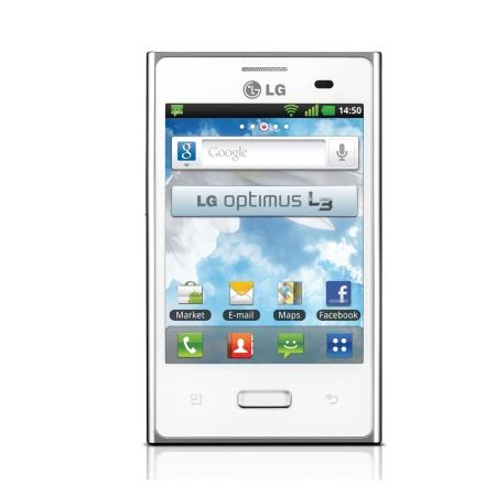 TIM Quadriband - LG OPTIMUS L3 FULL WHITE