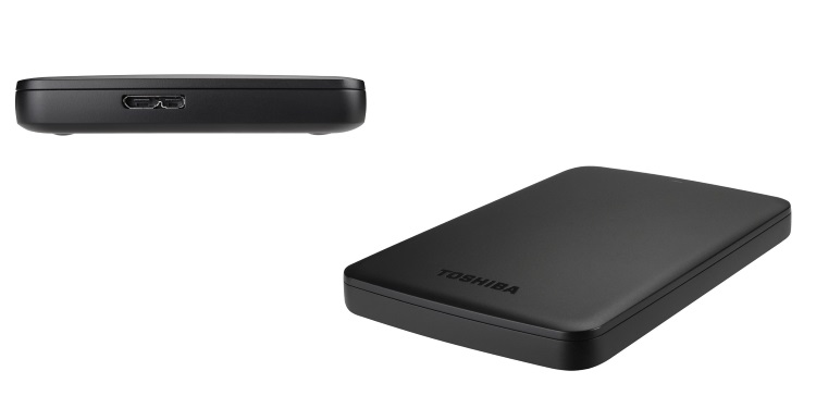 TOSHIBA Hard Disk Esterno da 2 TB - CANVIO BASICS 2TB HDTB320EK3AA
