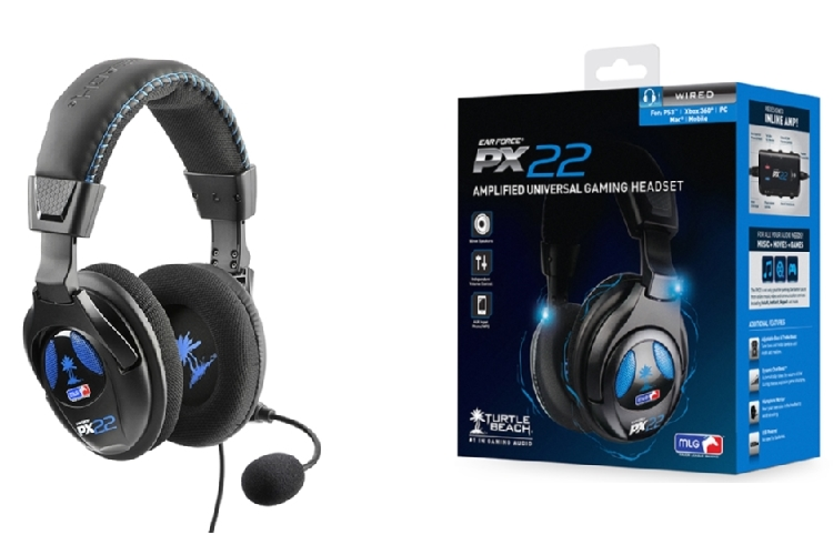 TURTLE BEACH Cuffie con microfono per PS3 - PS3 EAR FORCE PX22 P3ATU011