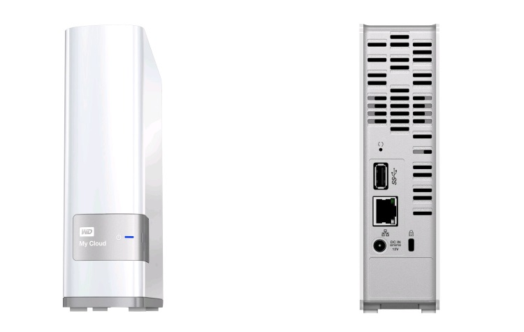 WESTERN DIGITAL Hard Disk da 2 TB con funzionalità Cloud - MY CLOUD 2TB WDBCTL0020HWT-EESN