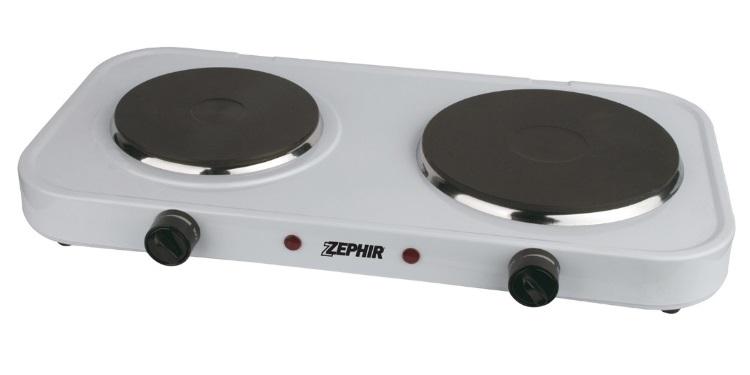 ZEPHIR Doppia Piastra cottura ad induzione - ZHC 15-18