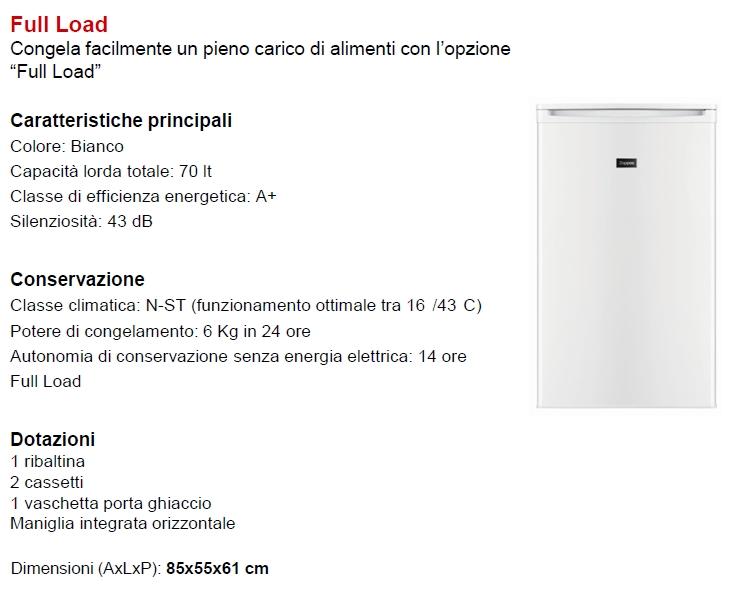 ELECTROLUX Congelatore verticale - ZOPPAS - PFG06400WA