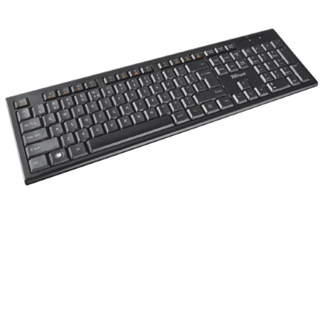 Trust Tastiera Wireless - Nola Wireless Keyboard +mouse 18772