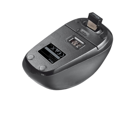 Trust Mouse Ottico Wireless - Yvi Wireless Black 18519