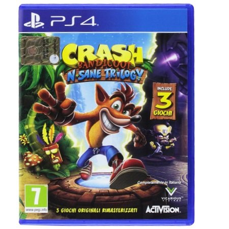 Activision - Crash Bandicoot N. Sane Trilogy PS4
