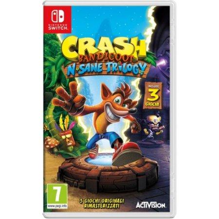 Activision Gioco adatto modello switch - Switch Crash Bandicoot N.sane Trilogy 88199it