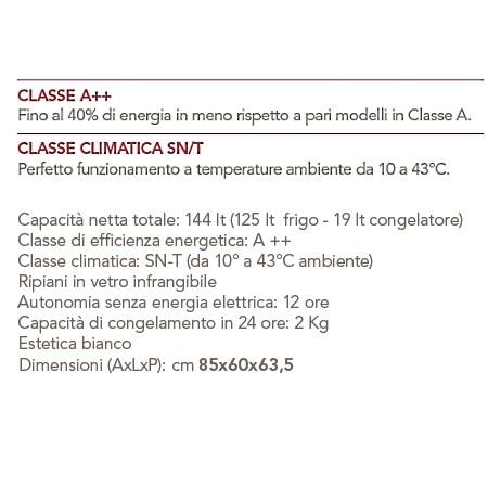 AEG Frigorifero da tavolo - S71440TSW0