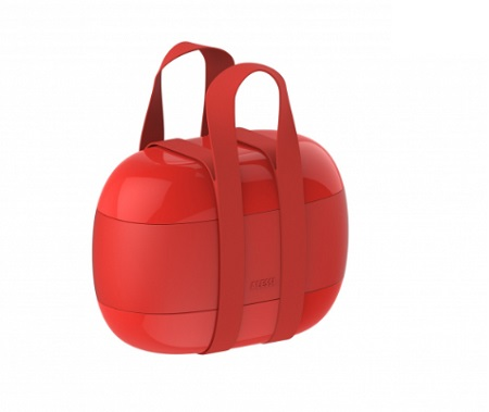 FOOD   PORTER LUNCH BOX 3 SCOMP.ROSSO