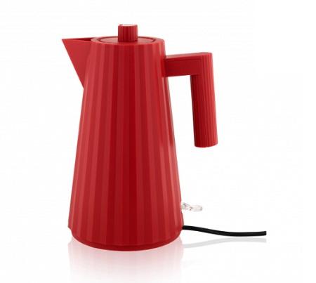 PLISSE' BOLLITORE ELET.1LT R Bollitore elettrico in resina termoplastica, rosso.