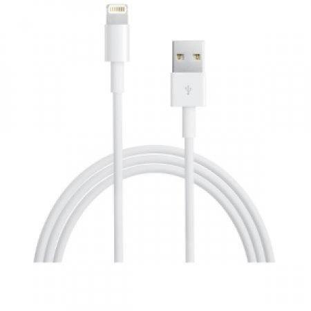 APPLE Cavo USB 2.0 per collegare l'iPhone, l'iPad o l'iPod con connettore Lightning alla porta USB del tuo PC, per ricaricare e sincronizzare il dispositivo, oppure all'alimentatore USB Apple per ricaricarlo da una presa di corrente - MD818ZMA CAVO DA LIGHTNING A USB
