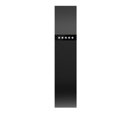 Fitbit Braccialetto Smart - Flex Black + Set 3 cinturini Large