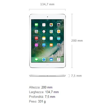 "Apple Display 7.9"" Retina IPS - iPad Mini Retina Cell 32GB Silver - ME824"